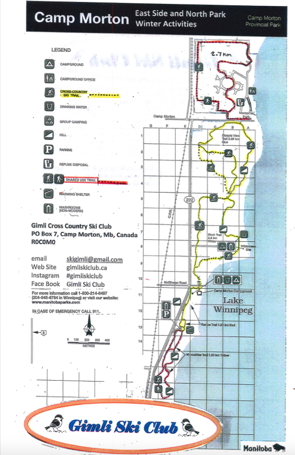 East Side & North Park Map